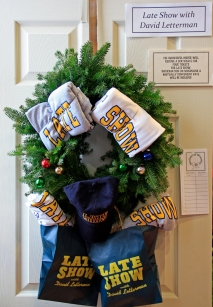 Letterman wreath