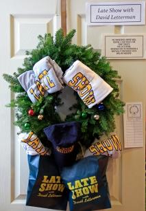 Letterman wreath