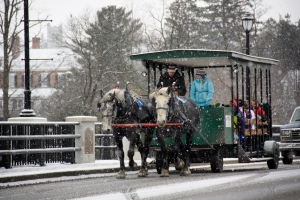 snow wagon ride blog