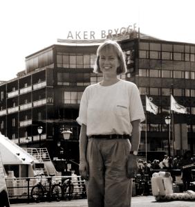 Maren Aker Brygge sepia