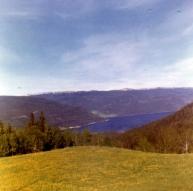 View from Husevollvegen 1962