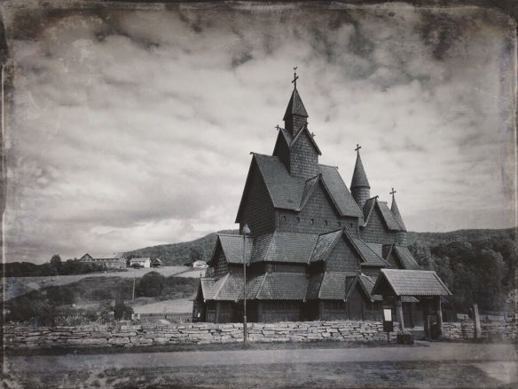 Heddal Stave Church by Maren Mecham